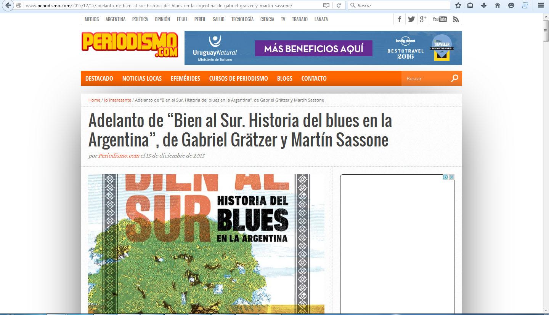 Bien al sur en Periodismo com martes 15 de diciembre